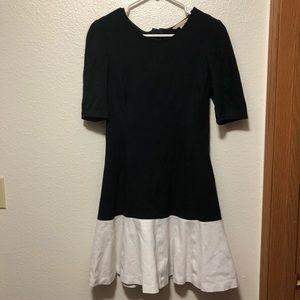 Banana Republic Size 6 3/4 Sleeve A Line Dress